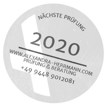 Nächste Prüfung - Alexandra Herrmann, Prüfsachverständige