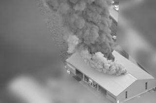 Wirkungsweise einer Rauch- und Wärmeabzugsanlage im Brandfall